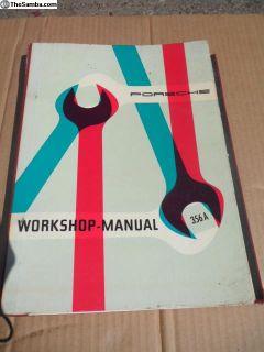 Porsche 356 A Factory Workshop Manual, 1956*