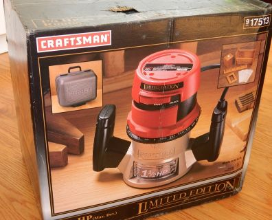 Craftsman 1.5HP Router (New)