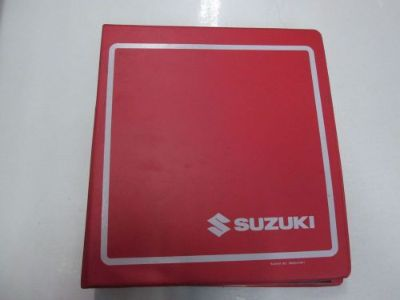 Find 1998 2005 Suzuki GSX600F Service Manual BINDER WORN STAINED FACTORY OEM *** motorcycle in Sterling Heights, Michigan, United States, for US $59.95