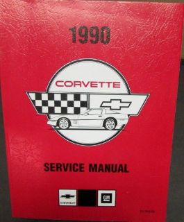 Sell Original 1990 Chevrolet Corvette Shop Service Repair Manual ZR-1 L98 LT5 & Suppl motorcycle in Holts Summit, Missouri, United States, for US $179.90
