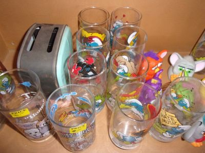 Smurf Drinking Glass Collection