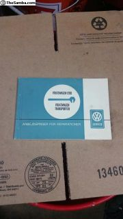 Rare dealer booklet in german 1964