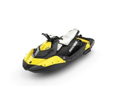 2014 Sea-Doo Spark 3up 900 H.O. ACE iBR Convenience Package 3 Person Watercraft Edgerton, WI