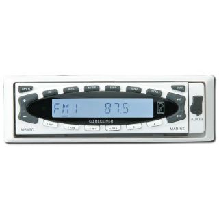 Sell Poly-Planar #Mr45c-W - Am/Fm Marine Stereo W/ Cd - White motorcycle in Largo, Florida, United States, for US $226.89