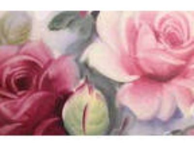 XL WaTeRcoLoR RoSeS ShaBby WaTerSLiDe DeCALs ~FuRNiTuRe