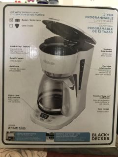 Coffee maker -12 cup