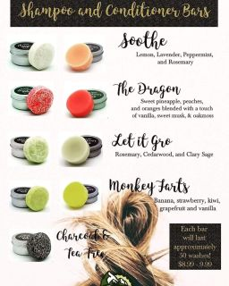 Who has heard of these fantastic shampoo and conditioner bars???