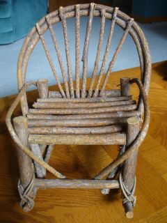 Chair to display doll/Handmade