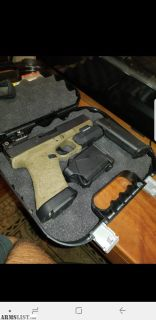 For Sale/Trade: Glock 17 od green stippled