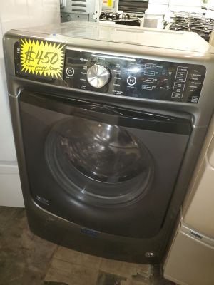 Maytag front load Washer New scratch and dent 4 months warranty