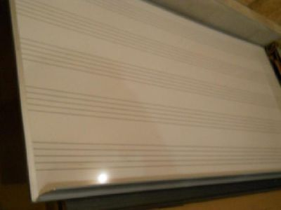 MUSIC Magnetic dry eraSE BOARD 4FOOT BY 8 FOOT(4'X8')
