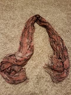 BROWN & BLACK SCARVE, EXCELLENT CONDITION, SMOKE FREE HOUSE