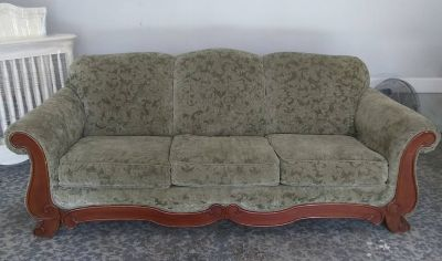 Large Green Sofa