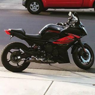 2012 Yamaha FZ600 T-C