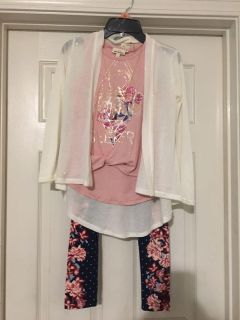 3 piece girl outfit