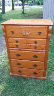 """Chest of 5 drawers 35""""W x 51""""H x 17""""D, pick up in Brazoria"""