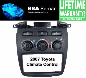 Find 2007 Toyota Heater Climate Control Repair Service AC Heater Head 07 Highlander motorcycle in Taunton, Massachusetts, United States