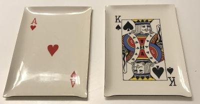 Cheese Playing Card Platters