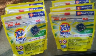Simply tide pods 6for20.00