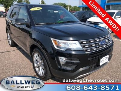 2016 Ford Explorer Limited (Shadow Black)