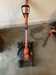 Edger and lawn mower