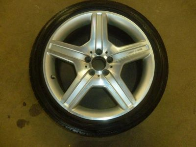 Purchase 07 MERCEDES S550 S600 Wheel Rim 19x8.5 5 Spoke AMG IC 65472 ET 43 w/ Good Tire 1 motorcycle in Cleveland, Ohio, US, for US $250.00