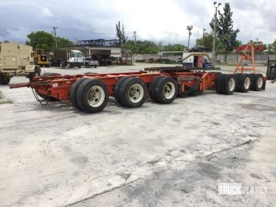 2001 Nelson AR6A-70PS Steerable Dolly Transport Trailer