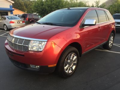 2007 Lincoln MKX Base (Maroon)