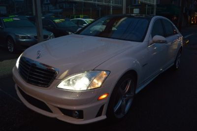 2009 Mercedes-Benz S-Class S63 AMG (White)