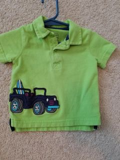 9 month jeep surfer polo shirt