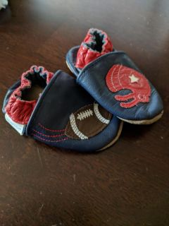 Football Robeez Slippers. 0-6M