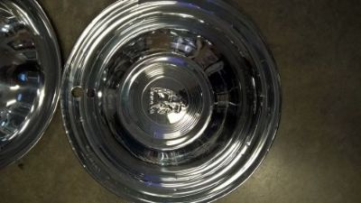 Sell 1950s Plymouth Hub Caps motorcycle in Jasper, Indiana, United States, for US $55.00