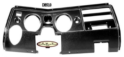 Buy 69 CHEVELLE DASH INSTRUMENT CARRIER PANEL BEZEL WITH AIR MALIBU EL CAMINO motorcycle in Bryant, Alabama, United States, for US $189.95