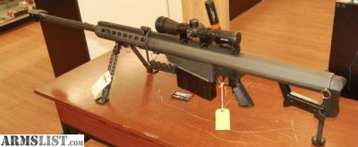 "For Sale: Barrett 82A1 50BMG 29"" Nightforce Factory Package"