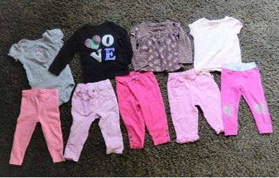 12 Month Tops & Pants
