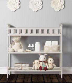NIB Dream On Me White Emily Changing Table (New never removed from box)