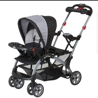 EUC- Baby trend Sit and Stand double stroller!