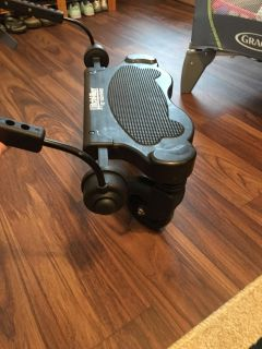 Ride along Valco hitchhiker stroller attachment