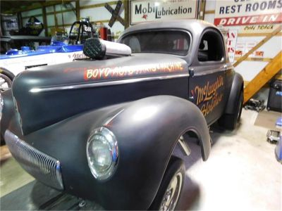 1941 Willys 3-Window Coupe