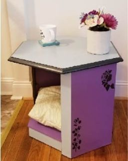 Refurbished Cat Bed Side Table
