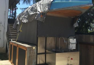 2001 Custom Built-Ronco-Conce ssion-Food-Trailer