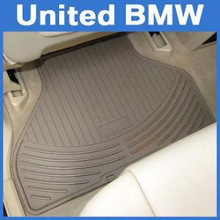 Sell BMW 3 Series Rear Rubber Floor Mats 323 325 328 330 Sedan & Wgn 1999-2005 Beige motorcycle in Roswell, Georgia, US, for US $43.00