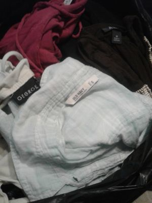 Big bag of clothes size S,XS, and M