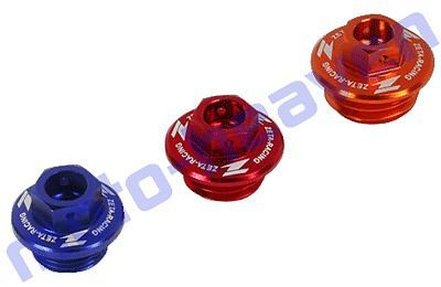Buy ZETA OIL Filler Plug Cap RED CRF150R CR125R CR250R CR125 CR150 CR250 ZE89-2110 motorcycle in Sugar Grove, Pennsylvania, United States, for US $12.95