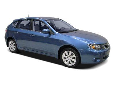 2009 Subaru Impreza 2.5i (Obsidian Black Pearl)