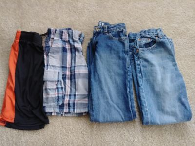 Size 6-8 jeans & shorts