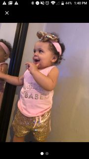 Birthday babe 3pcs outfit 2T