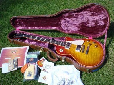 2003 Gibson Les Paul Historic 59 1959 Brazilian ReIssue Flametop 8.2lbs