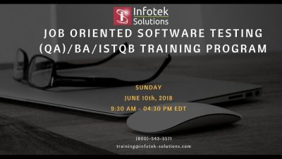 Weekend Session - Enterprising Software Testing, QA/BA,ISTQB Training Program