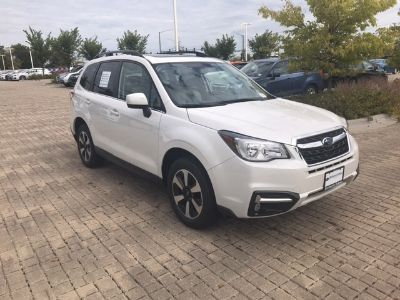 2018 Subaru Forester 2.5i Limited with Starlink + N (Crystal White Pearl)